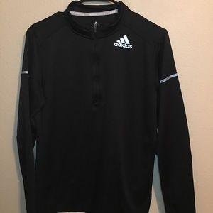 Adidas Run 3 Stripe Tights Black